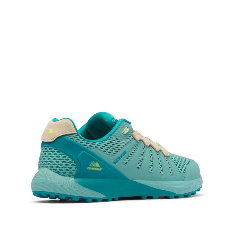 COLUMBIA MONTRAIL F.K.T.™ | 344 | 9 Zapato de carrera trail Columbia Montrail F.K.T.™ para mujer, Copper Ore, Acid Yellow, 3/4 back