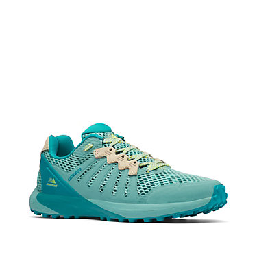 Women's F.K.T.™ Trail Running Shoe COLUMBIA MONTRAIL F.K.T.™ | 439 | 6, Copper Ore, Acid Yellow, 3/4 front