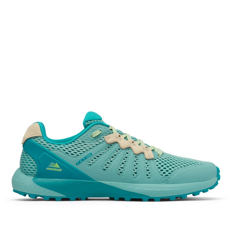 COLUMBIA MONTRAIL F.K.T.™ | 344 | 9 Zapato de carrera trail Columbia Montrail F.K.T.™ para mujer, Copper Ore, Acid Yellow, front