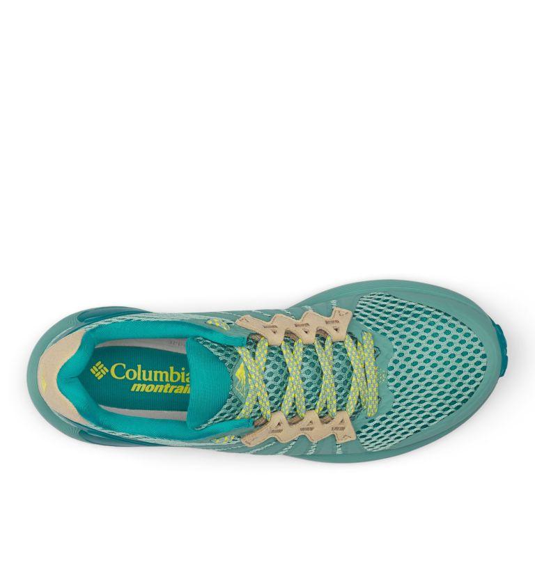 COLUMBIA MONTRAIL F.K.T.™ | 344 | 10 Zapato de carrera trail Columbia Montrail F.K.T.™ para mujer, Copper Ore, Acid Yellow, top
