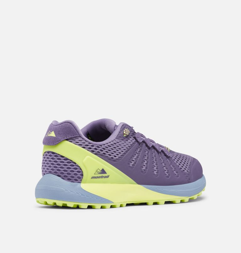 COLUMBIA MONTRAIL F.K.T.™ | 590 | 9.5 Zapato de carrera trail Columbia Montrail F.K.T.™ para mujer, Cyber Purple, Voltage, 3/4 back