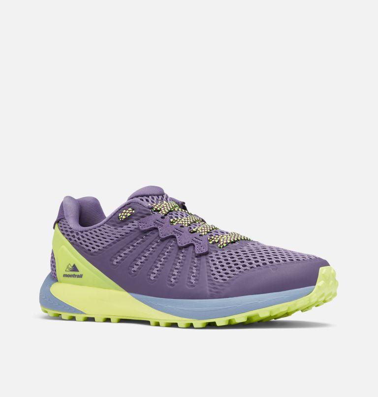 COLUMBIA MONTRAIL F.K.T.™ | 590 | 5 Zapato de carrera trail Columbia Montrail F.K.T.™ para mujer, Cyber Purple, Voltage, 3/4 front