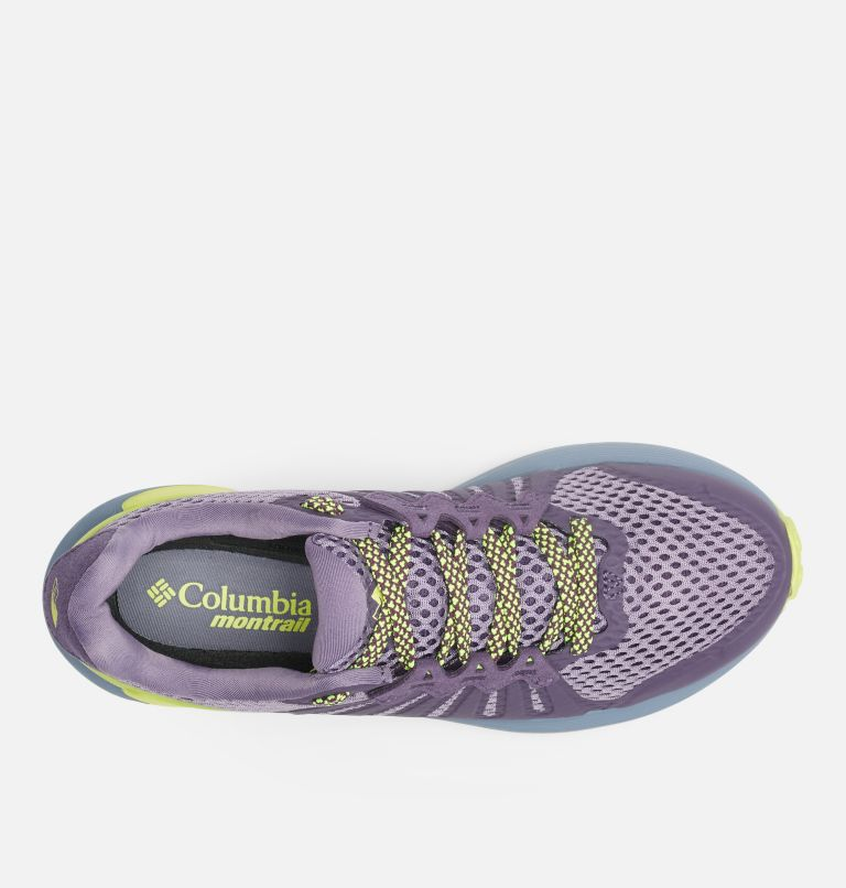 COLUMBIA MONTRAIL F.K.T.™ | 590 | 9.5 Zapato de carrera trail Columbia Montrail F.K.T.™ para mujer, Cyber Purple, Voltage, top