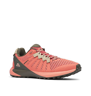 Women's F.K.T.™ Trail Running Shoe COLUMBIA MONTRAIL F.K.T.™ | 439 | 6, Faded Peach, Peatmoss, 3/4 front