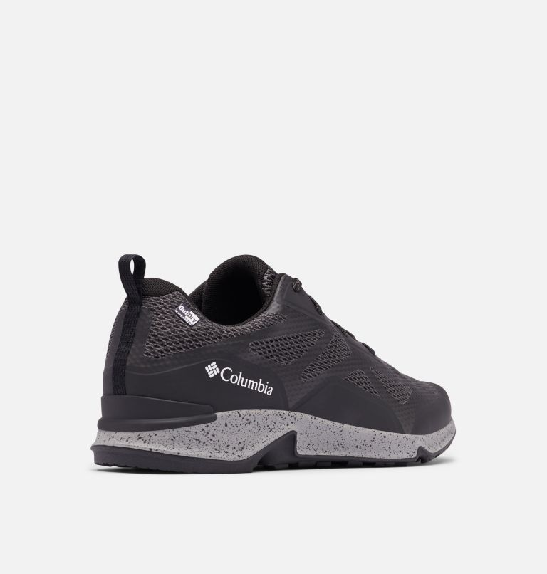 VITESSE™ OUTDRY™   010   10 Men's Vitesse™ OutDry™ Hiking Shoe, Black, White, 3/4 back