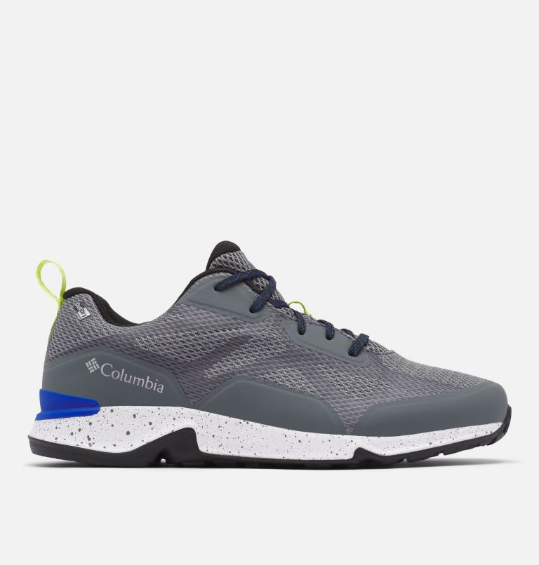 VITESSE™ OUTDRY™ | 053 | 12 Men's Vitesse™ OutDry™ Hiking Shoe, Graphite, Cobalt Blue, front