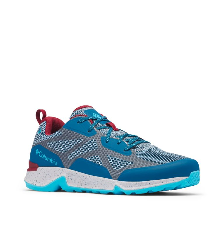 VITESSE™ OUTDRY™   099   11 Men's Vitesse™ OutDry™ Shoe, Slate Grey, Phoenix Blue, 3/4 front