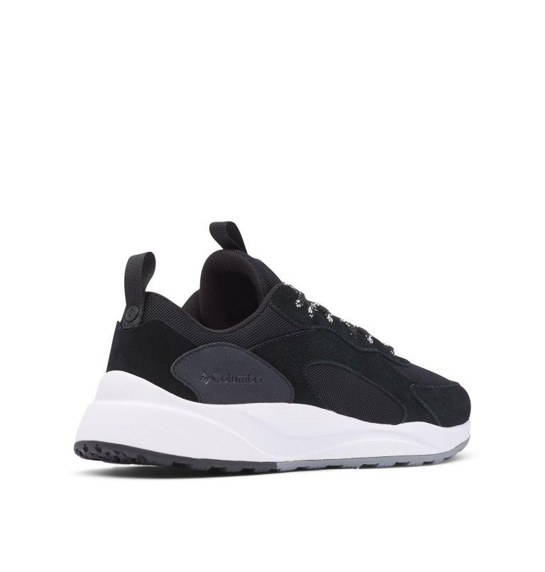 PIVOT™   010   7 Men's Pivot™ Shoe, Black, White, 3/4 back