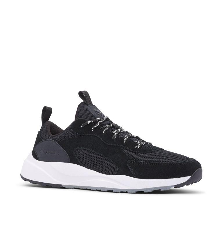 PIVOT™   010   7 Men's Pivot™ Shoe, Black, White, 3/4 front