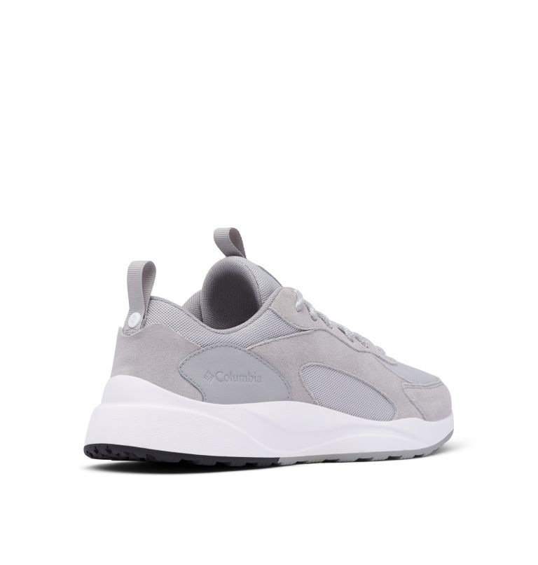 PIVOT™ | 063 | 10 Men's Pivot™ Shoe, Grey Ice, White, 3/4 back