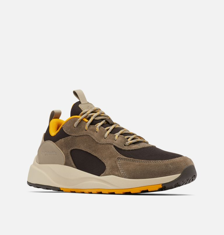 PIVOT™ | 231 | 12 Men's Pivot™ Shoe, Cordovan, Golden Yellow, 3/4 front