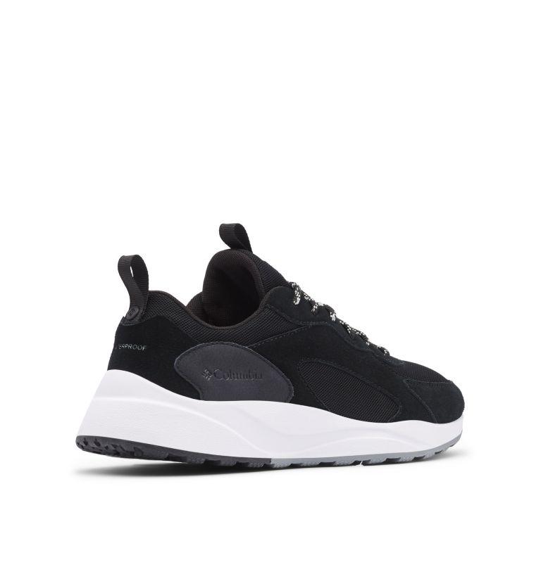 PIVOT™ WP | 010 | 14 Men's Pivot™ Waterproof Shoe, Black, White, 3/4 back