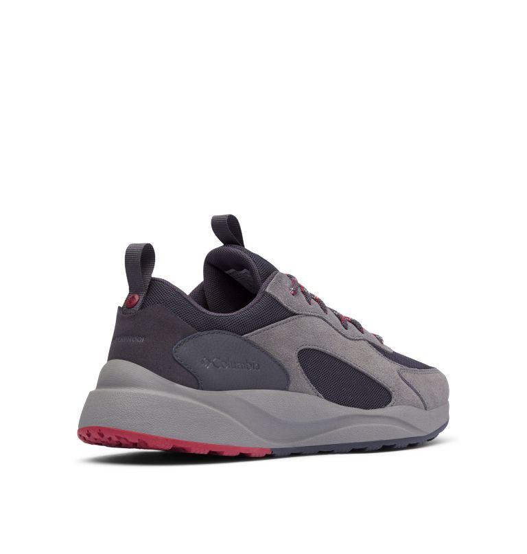 PIVOT™ WP | 011 | 10 Men's Pivot™ Waterproof Shoe, Shark, Red Element, 3/4 back