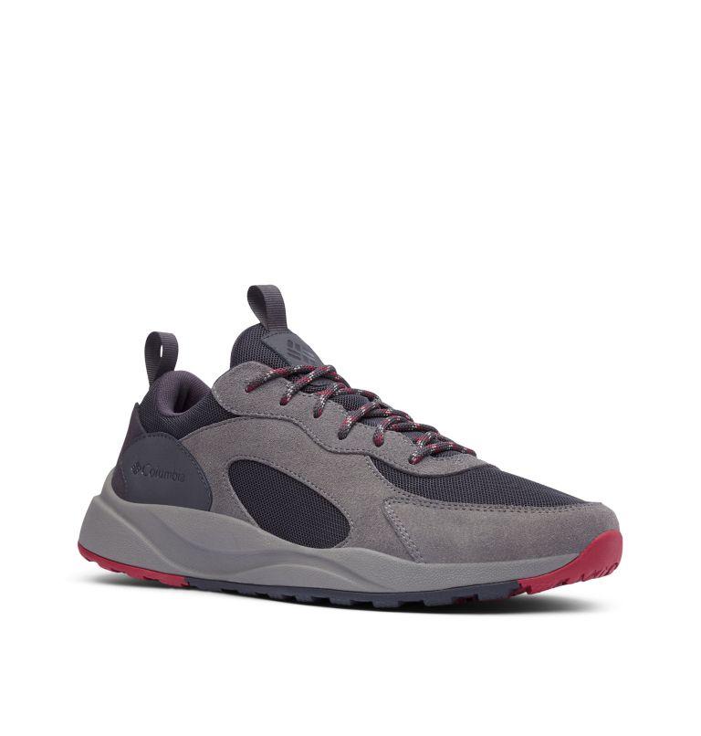 PIVOT™ WP | 011 | 10 Men's Pivot™ Waterproof Shoe, Shark, Red Element, 3/4 front
