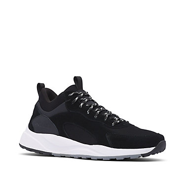 Men's Pivot™ Mid Waterproof Shoe PIVOT™ MID WP | 469 | 10.5, Black, White, 3/4 front