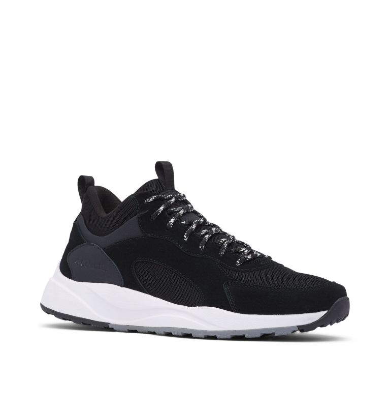 PIVOT™ MID WP | 010 | 11 Men's Pivot™ Mid Waterproof Shoe, Black, White, 3/4 front