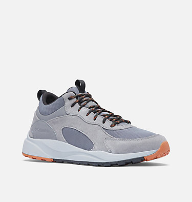 Men's Pivot™ Mid Waterproof Shoe - Wide PIVOT™ MID WP WIDE | 089 | 10, Ti Grey Steel, Cedar, 3/4 front