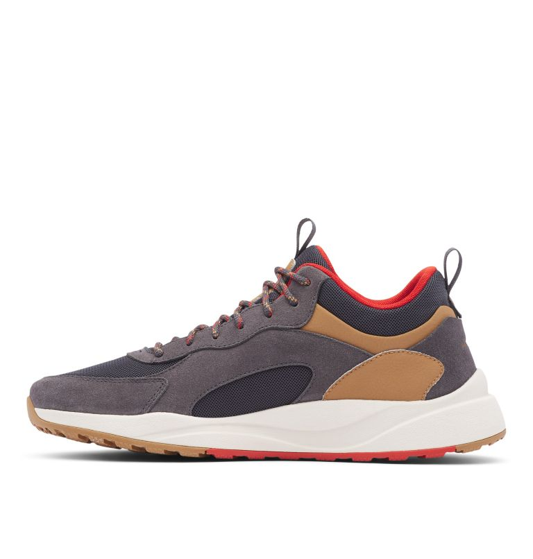 PIVOT™ MID WP WIDE | 089 | 10.5 Men's Pivot™ Mid Waterproof Shoe - Wide, Dark Grey, Rust Red, medial