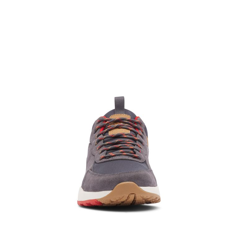 PIVOT™ MID WP WIDE | 089 | 10.5 Men's Pivot™ Mid Waterproof Shoe - Wide, Dark Grey, Rust Red, toe