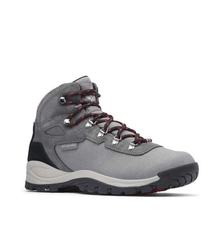 Men's Newton Ridge™ Canvas Waterproof Hiking Boot Men's Newton Ridge™ Canvas Waterproof Hiking Boot, 3/4 front