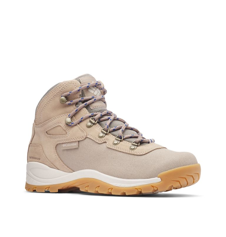 Men's Newton Ridge™ Canvas Waterproof Hiking Boot Men's Newton Ridge™ Canvas Waterproof Hiking Boot, 3/4 front