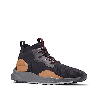 Scarpe SH/FT™ Mid Breeze da uomo SH/FT™ MID BREEZE | 036 | 10, Black, Rust Red, 3/4 front