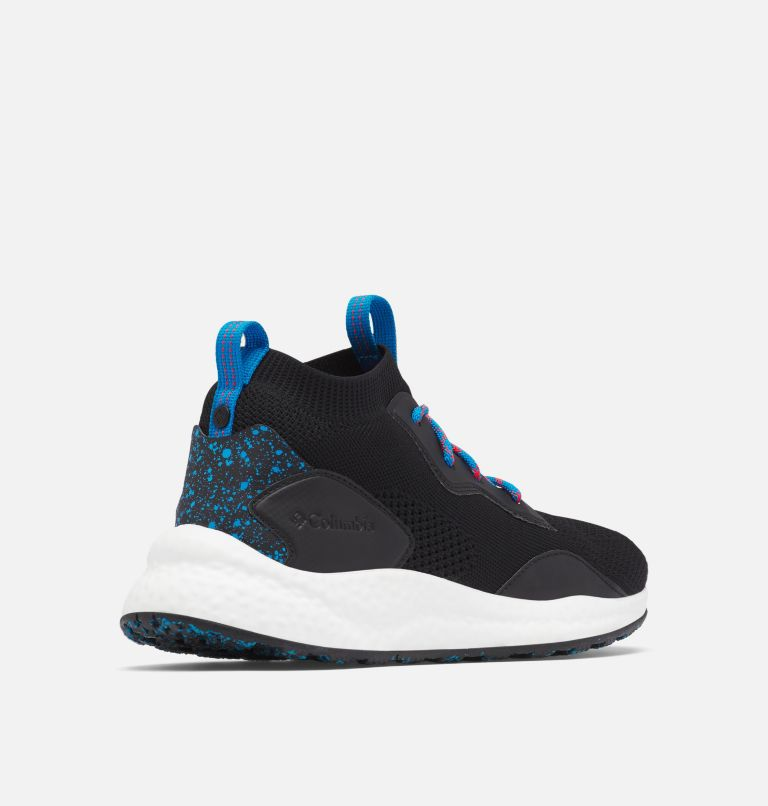 SH/FT™ MID BREEZE | 012 | 12 Men's SH/FT™ Mid Breeze Shoe, Black, Compass Blue, 3/4 back