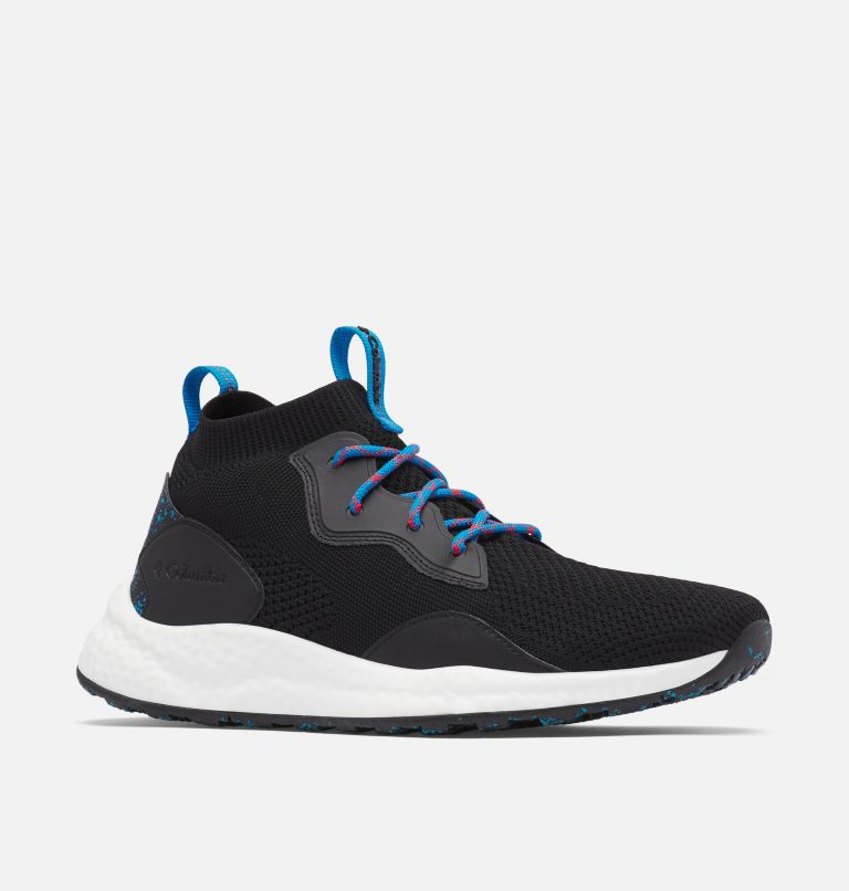 SH/FT™ MID BREEZE | 012 | 10 Men's SH/FT™ Mid Breeze Shoe, Black, Compass Blue, 3/4 front