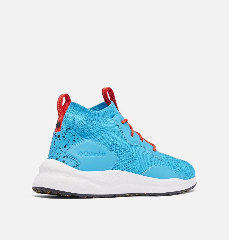 SH/FT™ MID BREEZE | 434 | 12 Men's SH/FT™ Mid Breeze Shoe, Cyan Blue, Black, 3/4 back