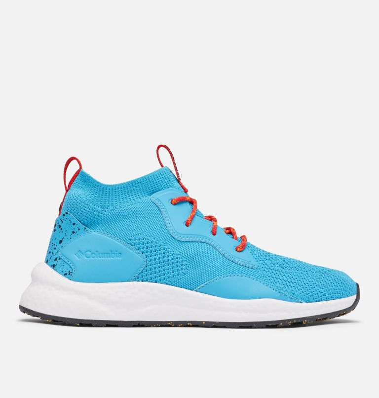 SH/FT™ MID BREEZE | 434 | 12 Men's SH/FT™ Mid Breeze Shoe, Cyan Blue, Black, front