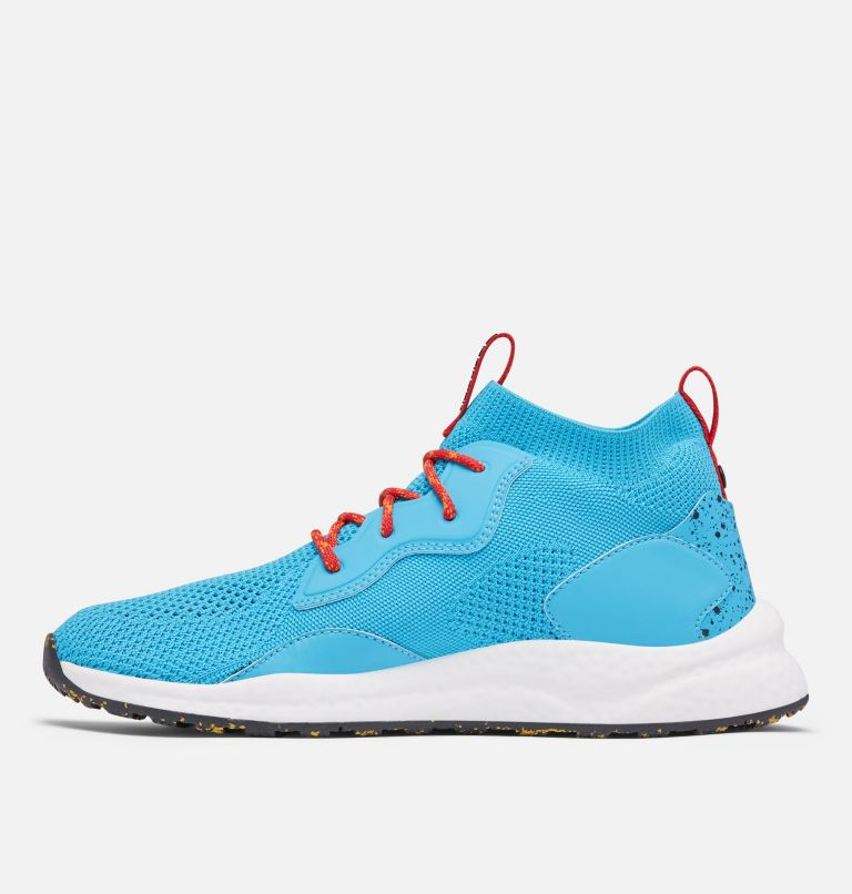 SH/FT™ MID BREEZE | 434 | 12 Men's SH/FT™ Mid Breeze Shoe, Cyan Blue, Black, medial