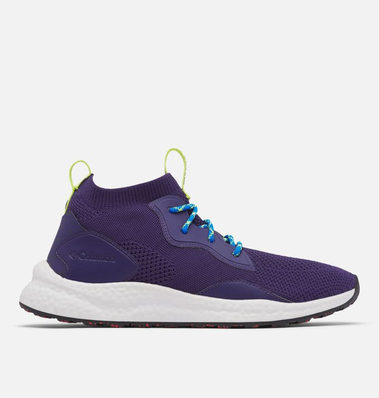 SH/FT™ MID BREEZE | 527 | 15 Men's SH/FT™ Mid Breeze Shoe, Deep Purple, Silver Grey, front