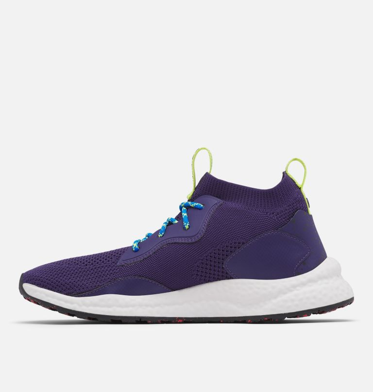 SH/FT™ MID BREEZE | 527 | 15 Men's SH/FT™ Mid Breeze Shoe, Deep Purple, Silver Grey, medial