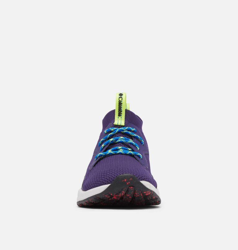 SH/FT™ MID BREEZE | 527 | 7.5 Men's SH/FT™ Mid Breeze Shoe, Deep Purple, Silver Grey, toe