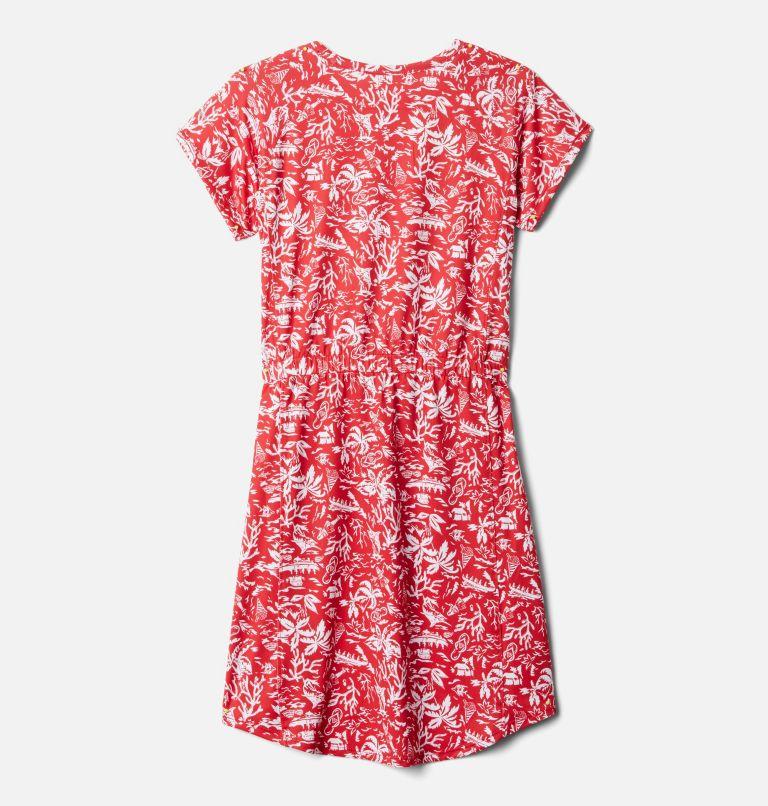 Freezer™ Dress | 696 | M Girls' PFG Freezer™ Dress, Red Spark Kona Youth, back