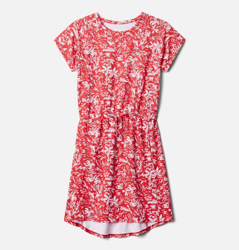 Freezer™ Dress | 696 | M Girls' PFG Freezer™ Dress, Red Spark Kona Youth, front