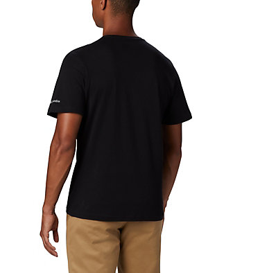 Men's Path Lake™ Graphic T-Shirt M Path Lake™ Graphic Tee | 327 | S, Black Round Bound, back