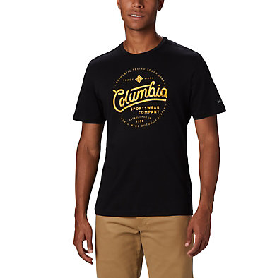 T-shirt con grafica Path Lake™ da uomo M Path Lake™ Graphic Tee | 011 | S, Black Round Bound, front