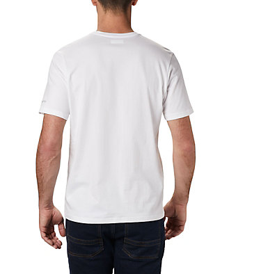 Men's Path Lake™ Graphic T-Shirt M Path Lake™ Graphic Tee | 327 | S, White CSC Badge, back