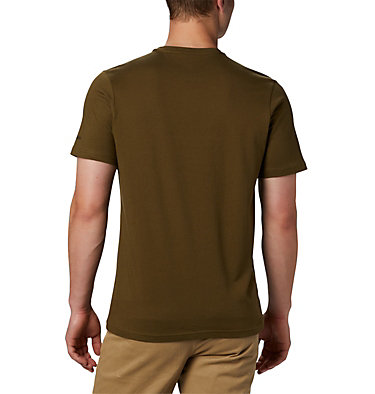 T-shirt con grafica Path Lake™ da uomo M Path Lake™ Graphic Tee | 011 | S, New Olive CSC Badge, back