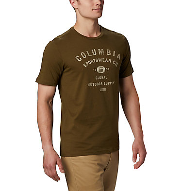 T-shirt con grafica Path Lake™ da uomo M Path Lake™ Graphic Tee | 011 | S, New Olive CSC Badge, front