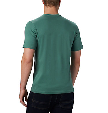 T-shirt con grafica Path Lake™ da uomo M Path Lake™ Graphic Tee | 011 | S, Thyme Green Round Bound, back