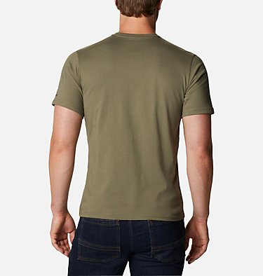T-shirt con grafica Path Lake™ da uomo M Path Lake™ Graphic Tee | 011 | S, Stone Green CSC Badge, back