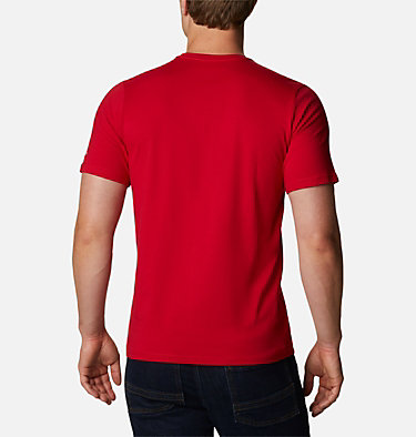 T-shirt con grafica Path Lake™ da uomo M Path Lake™ Graphic Tee | 011 | S, Mountain Red CSC Badge, back