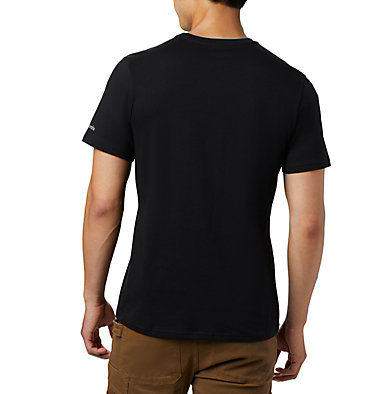 Camiseta Rapid Ridge™ para hombre M Rapid Ridge™ Graphic Tee | 845 | L, Black, White Framed Floral, back