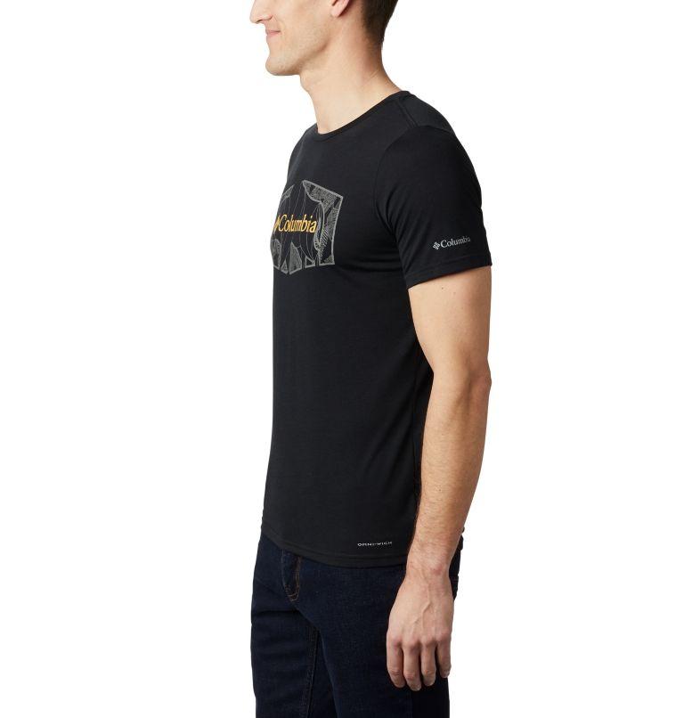 Terra Vale™ II SS Tee | 010 | XL Men's Terra Vale™ II T-Shirt, Black Roam Hex, a1