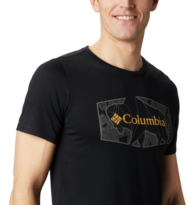 Terra Vale™ II SS Tee | 010 | XL Men's Terra Vale™ II T-Shirt, Black Roam Hex, a3