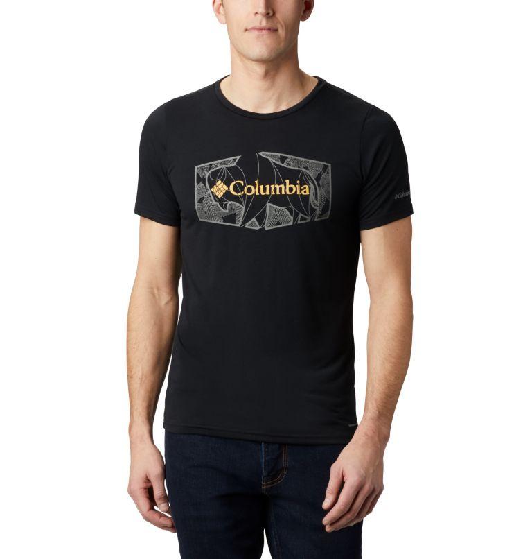Terra Vale™ II SS Tee | 010 | XL Men's Terra Vale™ II T-Shirt, Black Roam Hex, front