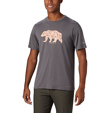 Men's Terra Vale™ II T-Shirt Terra Vale™ II SS Tee | 835 | L, City Grey Grizzly Walk, front