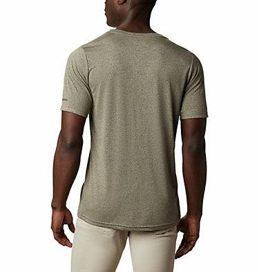 T-shirt Terra Vale™ II da uomo Terra Vale™ II SS Tee | 835 | L, New Olive Heather Keep It Wild, back